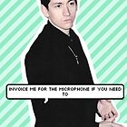 Alex Turner :  Invoice me for the microphone if you need to by arcticmoneys