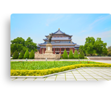 The Sun Yat-Sen Memorial Hall in Guangzhou, China. Canvas Print