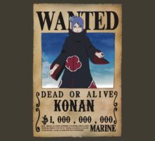 Wanted Poster Konan by BadrHoussni