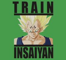 Train Insaiyan Majin Vegeta  by BadrHoussni
