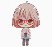 chibi mirai kuriyama  by runawaywithyou