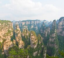 Zhangjiajie National Park in China by kawing921