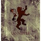 Lannister 03 [Phone Case] by Ilcho Trajkovski