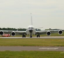 Boeing RC-135 at Waddington Airshow by Jonathan Cox
