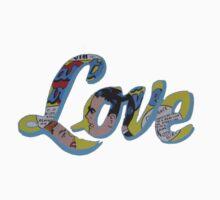 Comic book Love pop art by goldstate