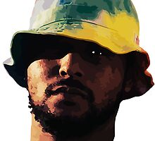 ScHoolboy Q Illustration - Original Print - benmcArts by Ben McCarthy
