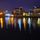 Leith at Night by Nik Watt