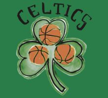 Boston Celtics design by nbatextile