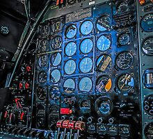 B29 Flight Engineer Station by chris-csfotobiz