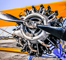 Pre-ww2 Stearman Continental R-670 by chris-csfotobiz