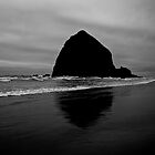 Haystacks in Cannon Beach, OR by GoddessChrissy
