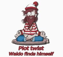 Plot Twist - Waldo Finds Himself  by FergalMcCabe
