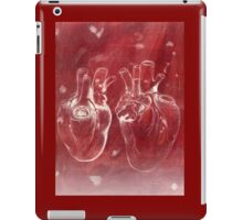 Anatomical study of human heart - Pen and ink iPad Case/Skin