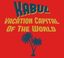 Kabul Vacation Capital by Location Tees