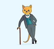 Dapper Cat by Michelle Knight