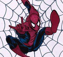 SJK Spiderman by Sarah Klimek