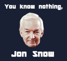 You know nothing, Jon Snow by cragnoters