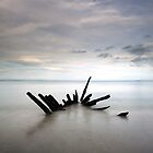 Longniddry Wreck by Photo Scotland