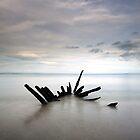 Longniddry Wreck by Grant Glendinning