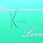Happy Anniversary ... Love by Jean Gregory  Evans