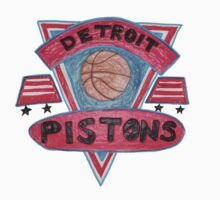 Detroit Pistons design by nbatextile