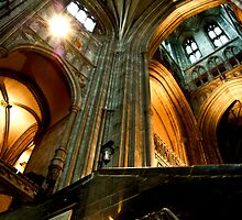 Inside Canterbury Cathedral by wearehector