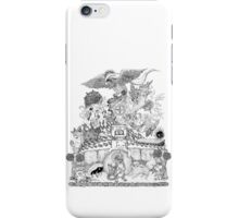 twitch plays pokemon red; the adventure remains! (black and white) iPhone Case/Skin