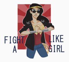 Fight Like A Girl by EllaMRed