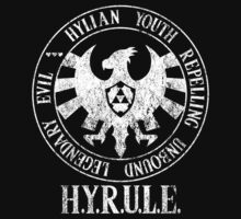 Agents of H.Y.R.U.L.E. (Zelda / S.H.I.E.L.D. parody) by PeterParkerPA