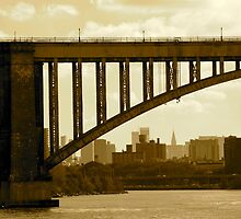 NYC View from the East River by LisaThomasPhoto