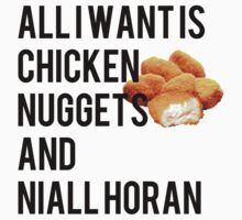 CHICKEN NUGGETS AND NIALL HORAN by ohmermaids
