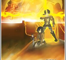 Shingeki no Kyojin - Titan Wars by FPArtistry