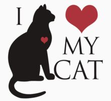 I HEART MY CAT by Andha Y R