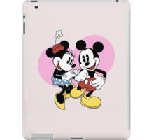 minnie and mickey mouse iPad Case/Skin