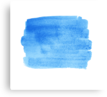 Watercolor design Canvas Print