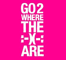 Go 2 Where The Smiles Are :-) : Pink iPad Cover by Nick Egglington