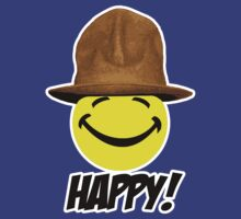 HAPPY... in my Pharrell Williams style hat! by Brother Adam