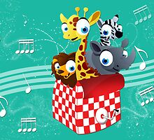 Magical Musical Animal Box by Sachin Goel