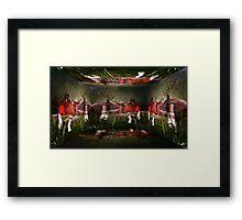 Magical Mushroom Farm Framed Print