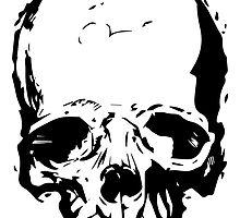 Skull Vector by Thinky  Pain
