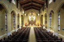Inside the Metropolitan United Church by John Velocci