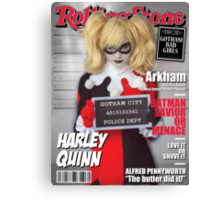 Harley Quinn Special Canvas Print