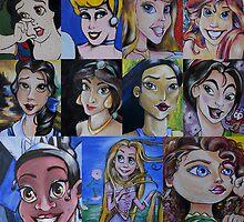 Princess Fine Art Mash-up by lissyleem