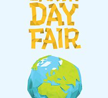 Earth Day Fair Poster by Luke Massman-Johnson