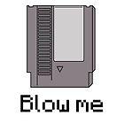 Nes cart- blow me by DERPkitten