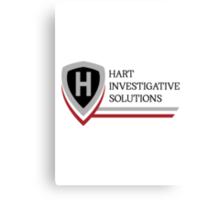 True Detective - Hart Investigative Solutions Canvas Print