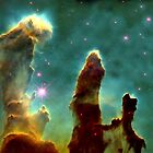 Pillars of creation by Maria Mazhirina