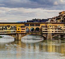 The Ponte Vecchio Bridge by Wade Brooks