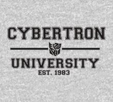 Cybertron University  (Black) by TheSassmaster