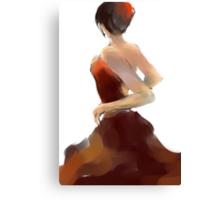 Flamenca12 Canvas Print